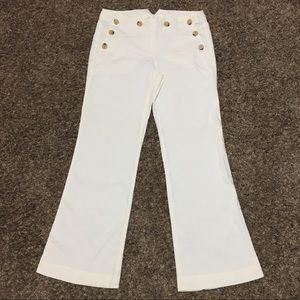 Theory Linen Trousers Size 4